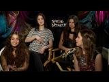 SPRING BREAKERS Interview- Selena Gomez, Vanessa Hudgens, Ashley Benson and Rachel Korine